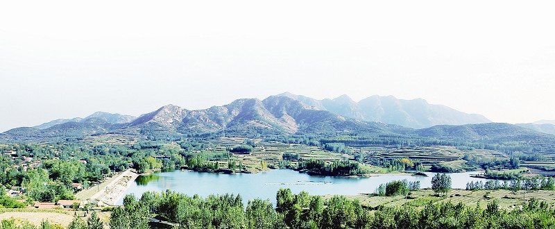 六汪镇根据青岛西海岸经济新区的总体规划