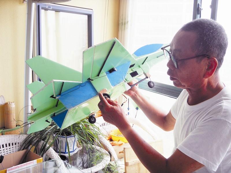 苏27遥控飞机组装