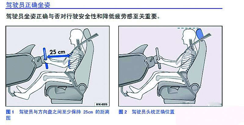 不正确的驾驶姿势会对安全驾驶产生非常