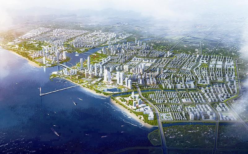 生态智慧的城市新区,技术领先