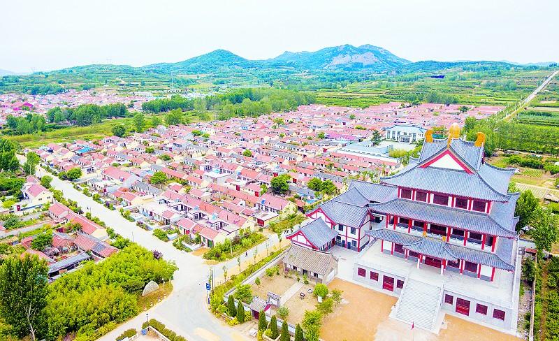 韩国人体村庄中的姑娘_美丽乡村建设让海青幸福转身